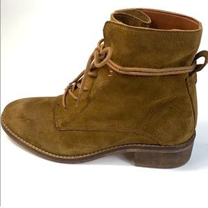 Steve Madden Brown Suede Rosaly Boots Booties